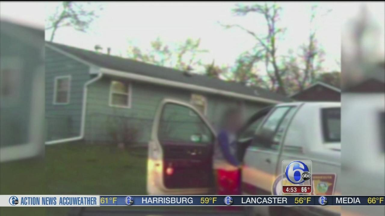 VIDEO: Boy, 8, takes a 20-mile joyride