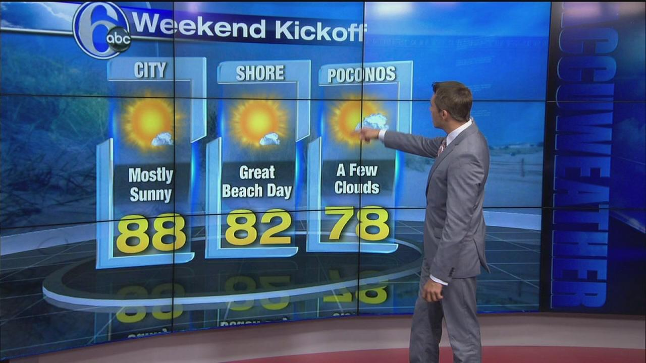 VIDEO: Adam Joseph with AccuWeather