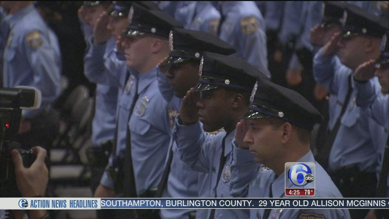 Squads of new Philly Officers