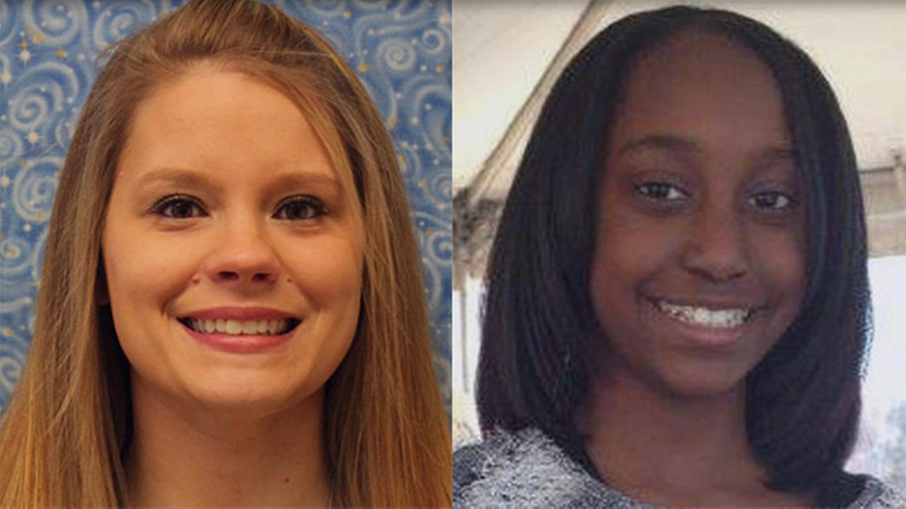 Allison McGinnis, Janiya Castleberry Davis