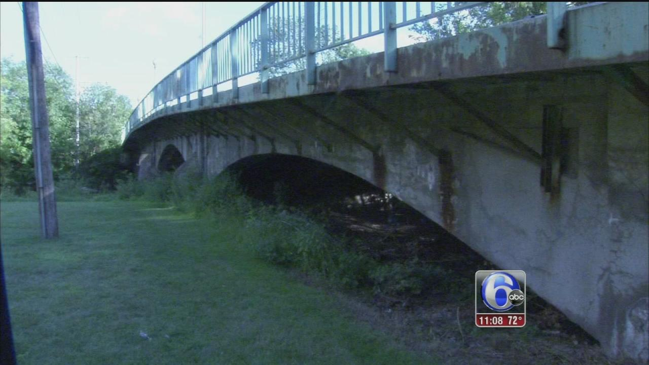 VIDEO: Crumbling bridge cause for conern