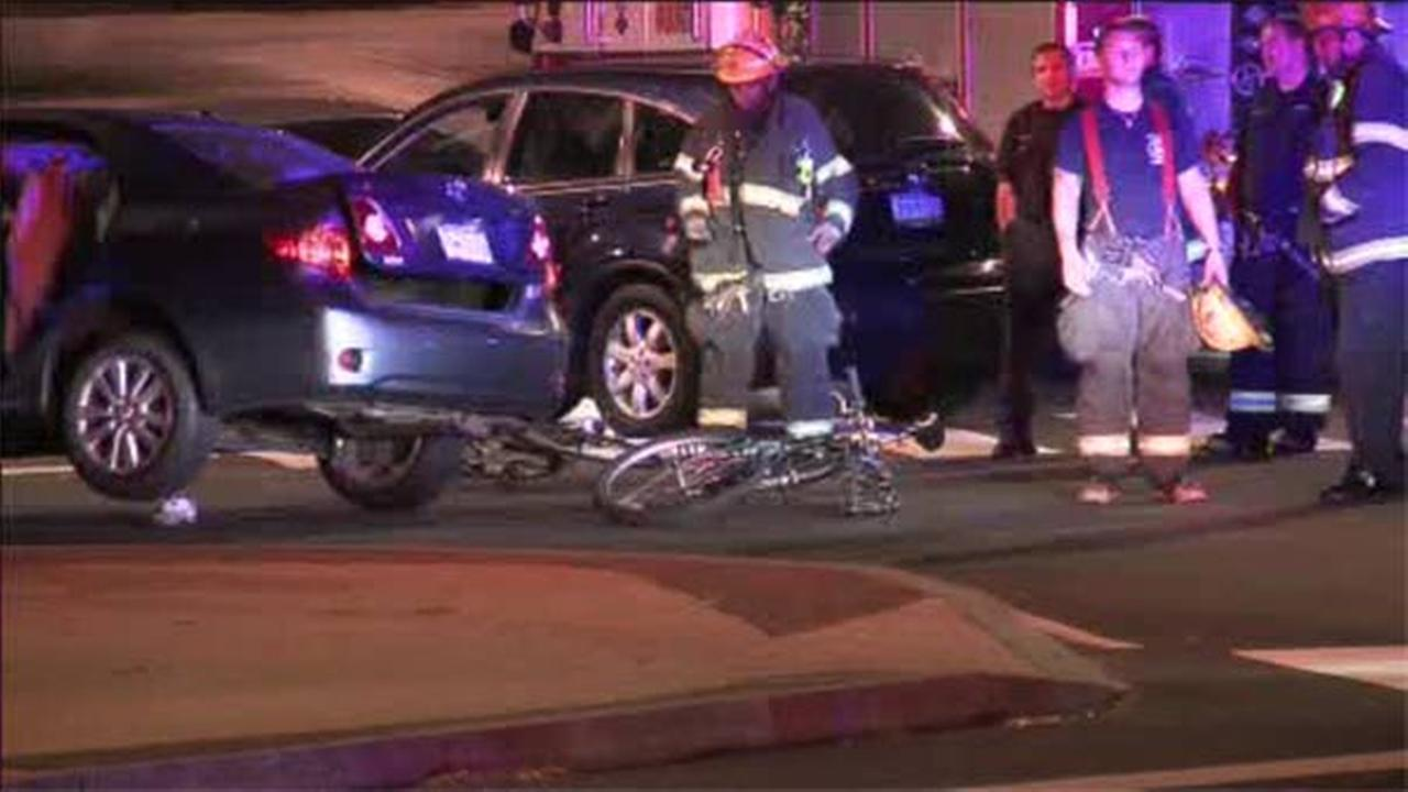 Bicyclist struck by suspected drunk driver in Logan Square