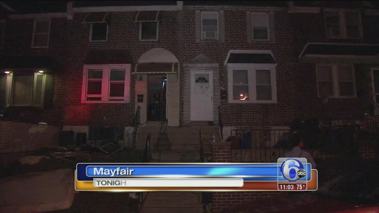 VIDEO: Fire in Mayfair called suspicious; 2 injured