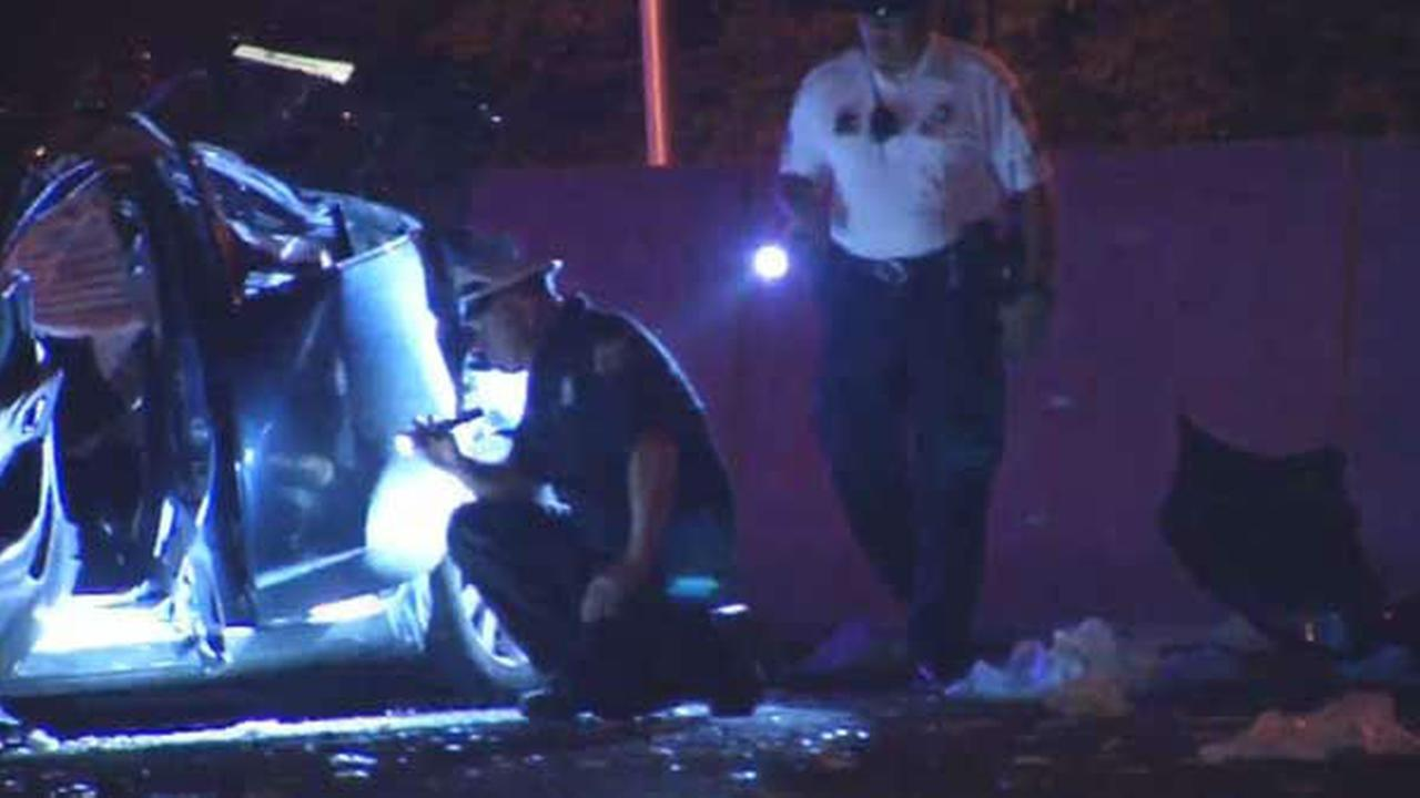 PHOTOS: Deadly crash in Northeast Philadelphia
