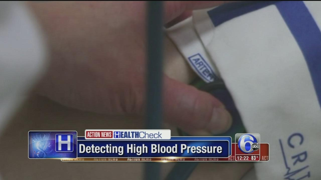 VIDEO: Test could predict high blood pressure