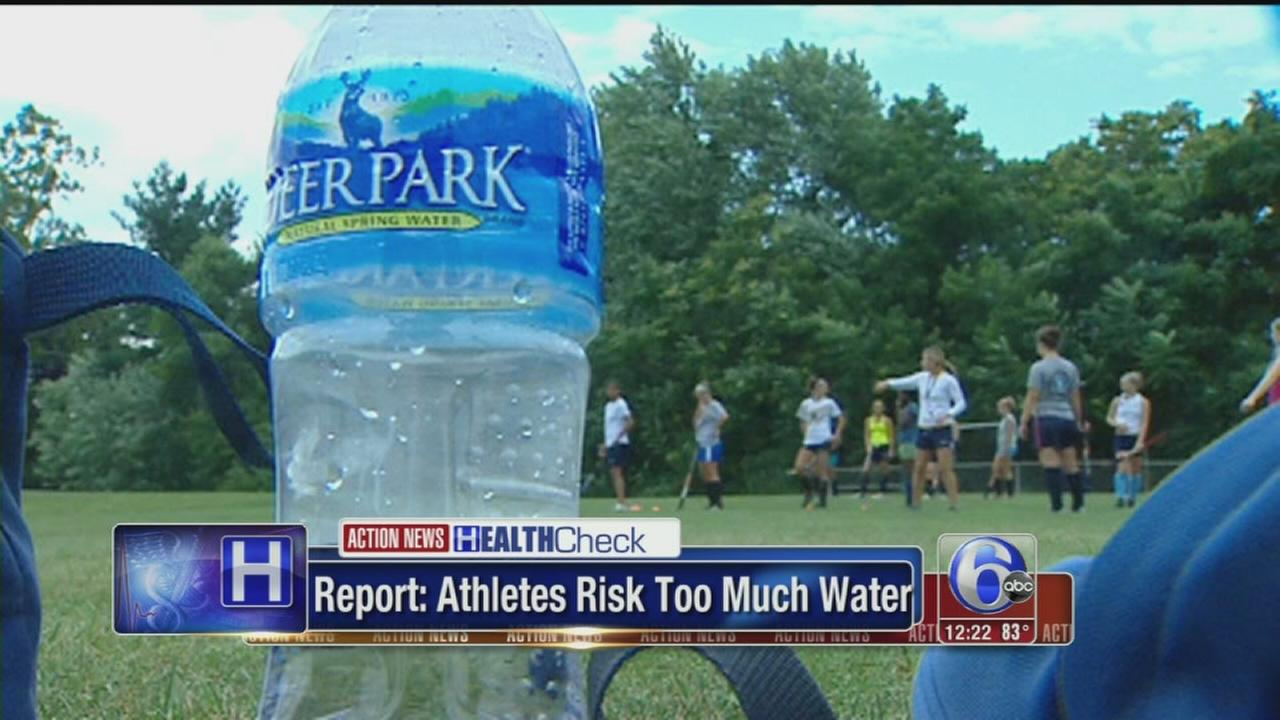 VIDEO: Young athletes getting too much water
