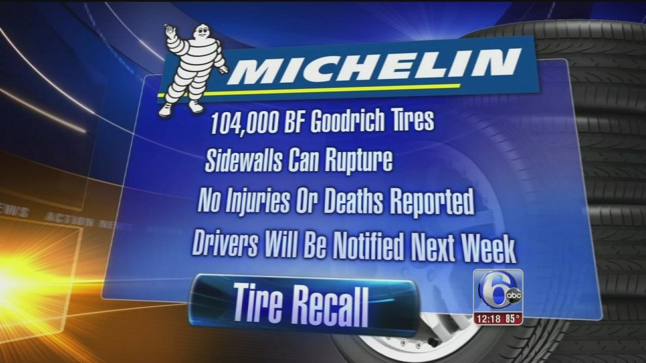 VIDEO: Michelin recalls truck, RV tires prone to rupturing