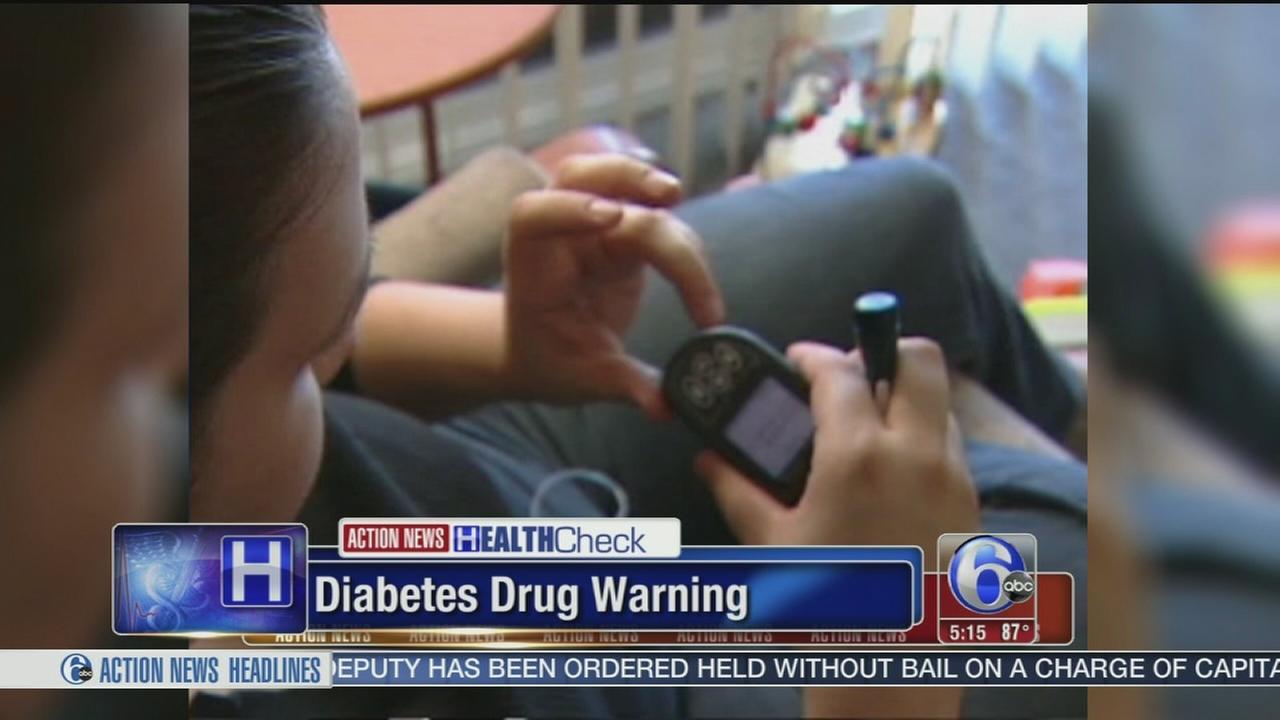 VIDEO: Diabetes drug warning