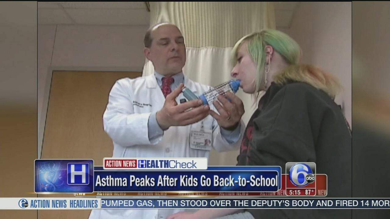 VIDEO: Asthma peaks after kids go back to school