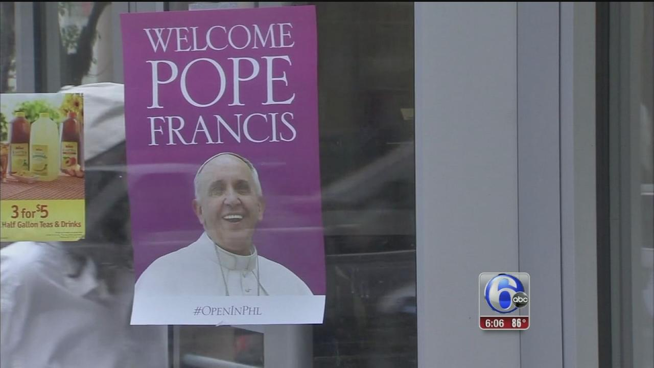 VIDEO: Campaign aims to excite the city for pope visit