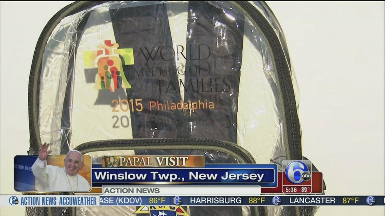 VIDEO: World Meeting orders NJ womans clear bags