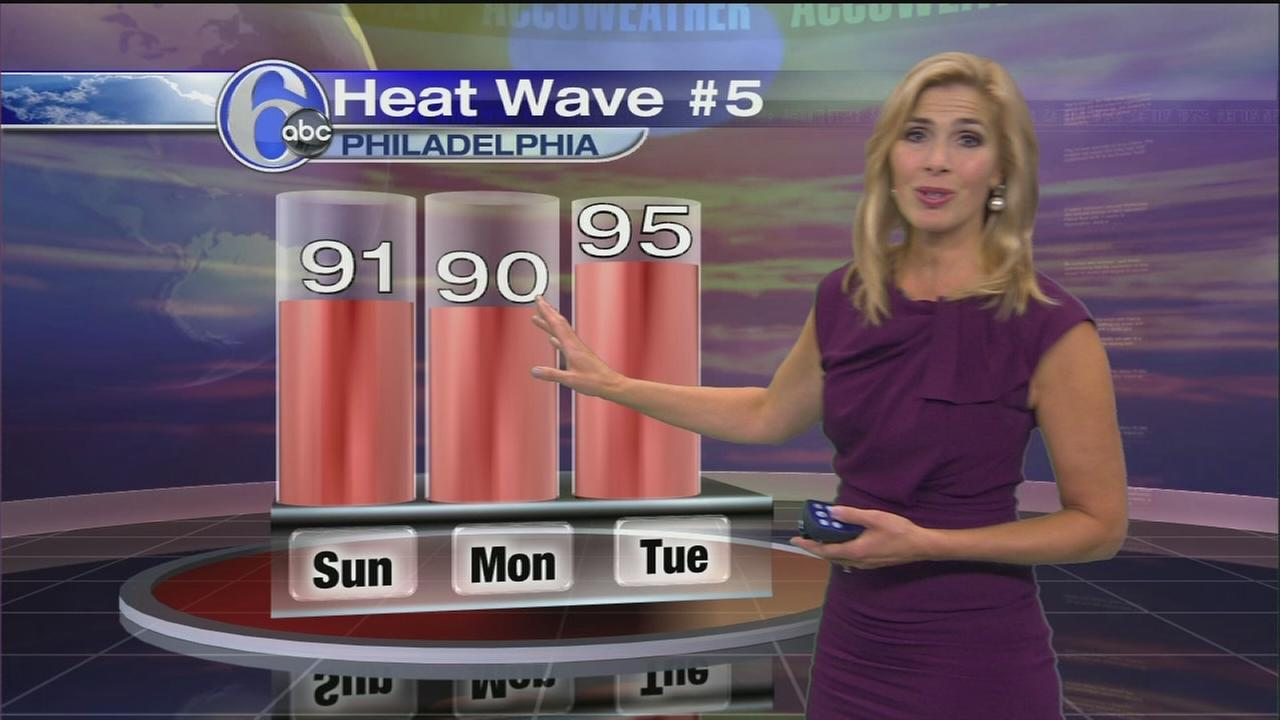 VIDEO: Karen Rogers with the latest from AccuWeather