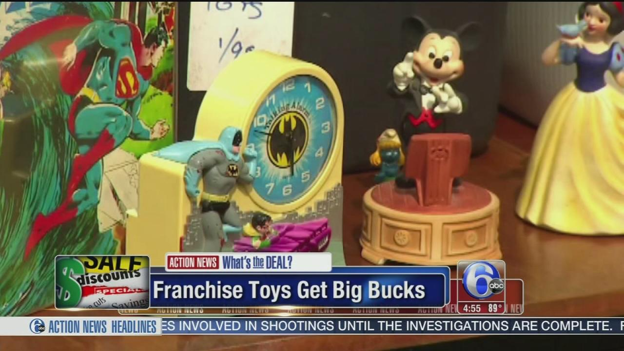 VIDEO: Franchise toys get big bigs