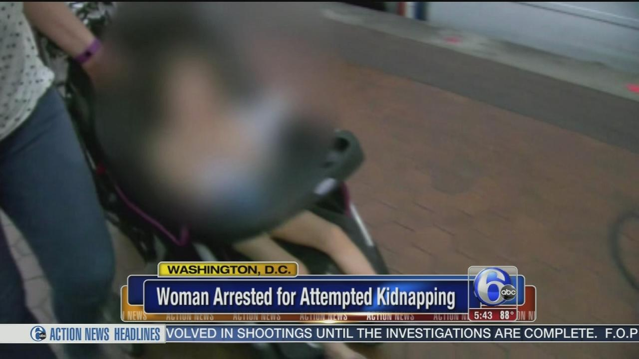 VIDEO: DC official: Woman tried to grab girl from stroller on train