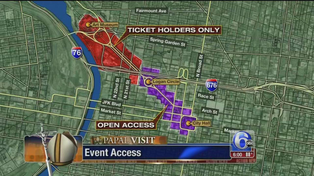 VIDEO: Ticket information for popes visit