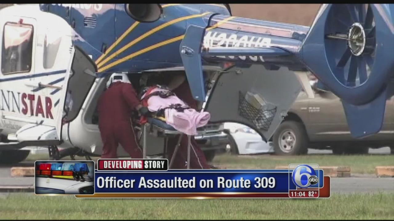 VIDEO: Schuylkill County officer assaulted