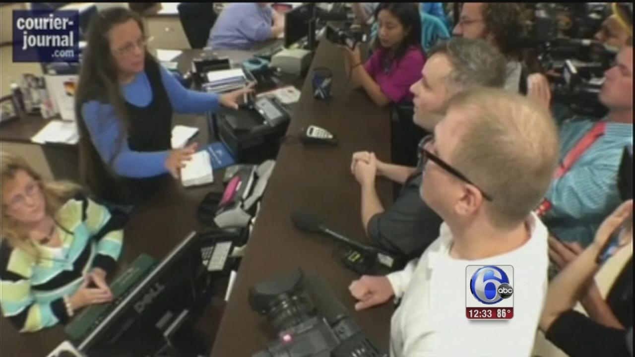 VIDEO: Ky clerk to appear in court