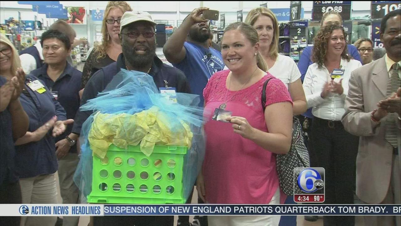 VIDEO: Walmart surprises NJ teacher with free school supplies