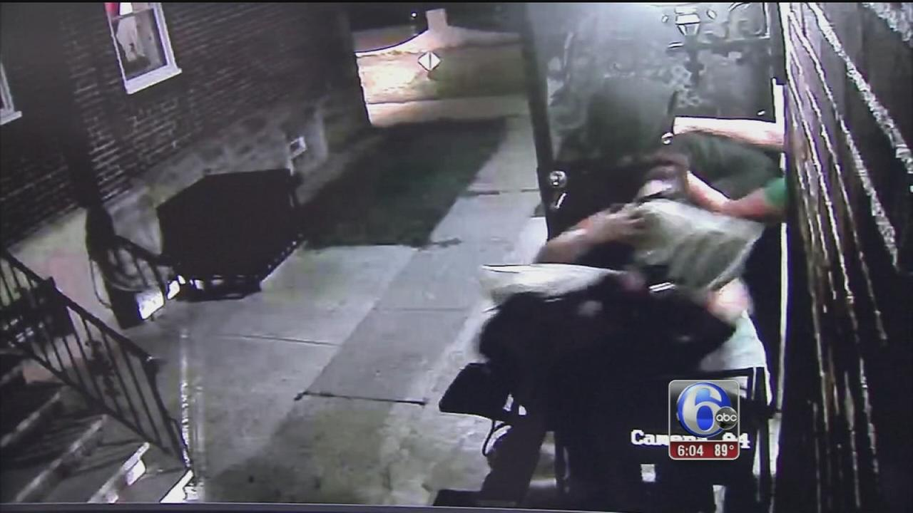 VIDEO: Video shows horrifying home invasion in Lawncrest