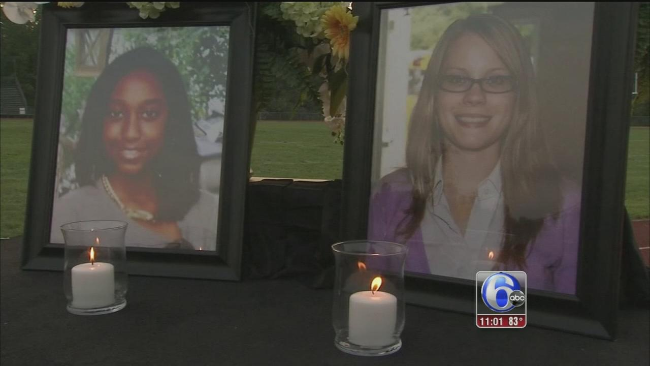 VIDEO: Vigirl for teacher, student killed