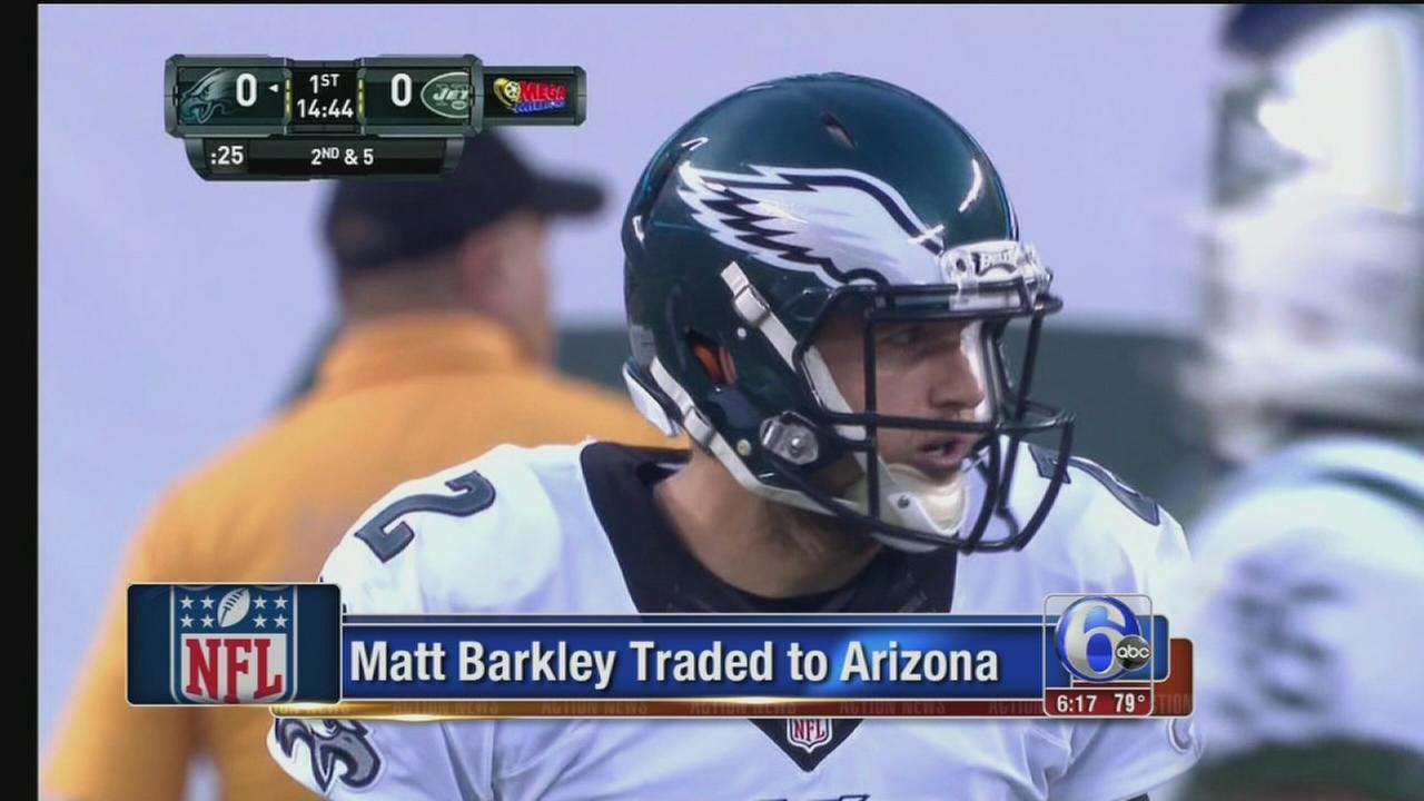 VIDEO: Matt Barkley traded to Arizona