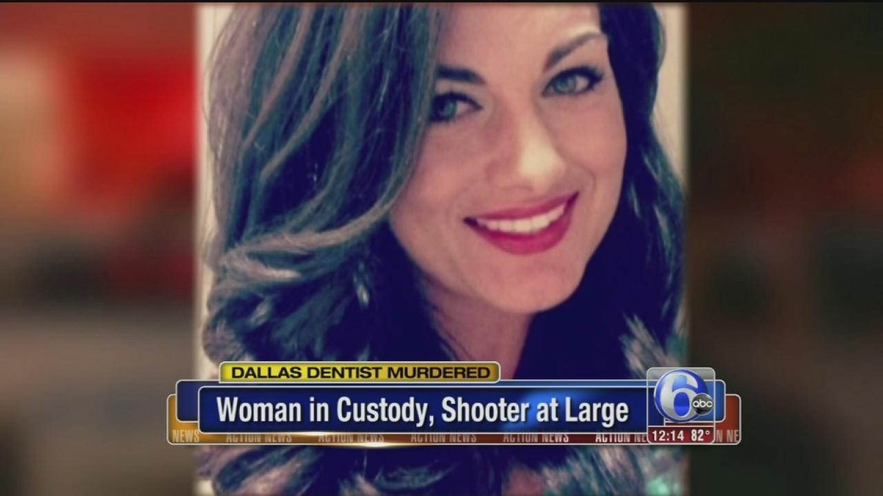 VIDEO: Dallas woman held in dentist slaying