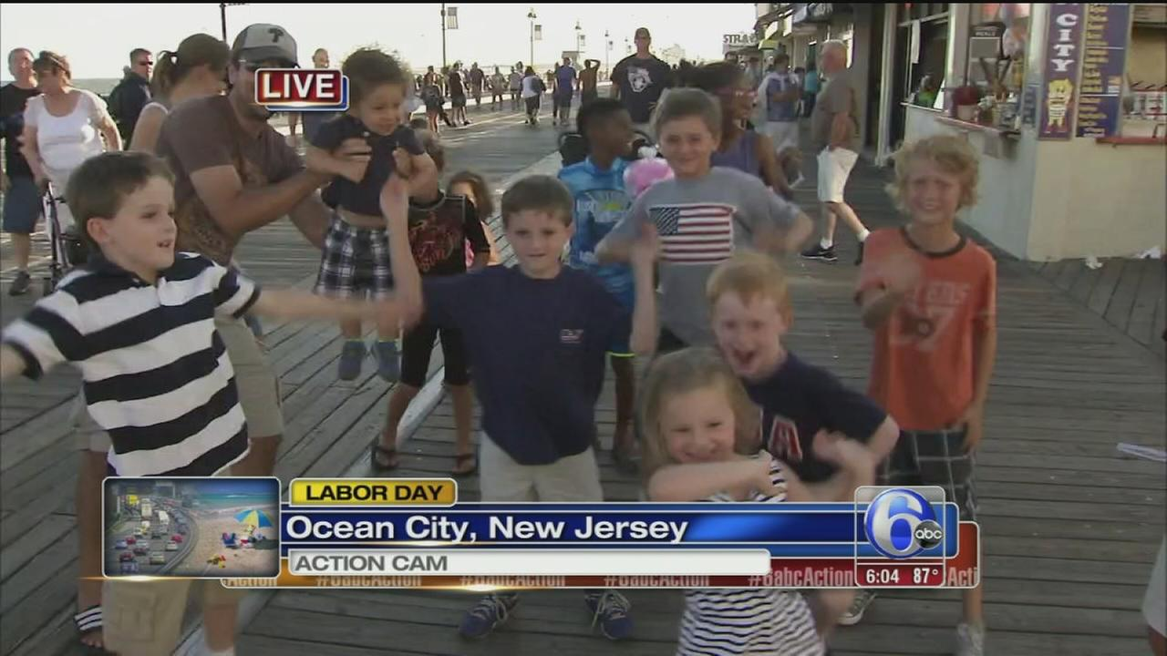 VIDEO: Labor Day fun in Ocean City