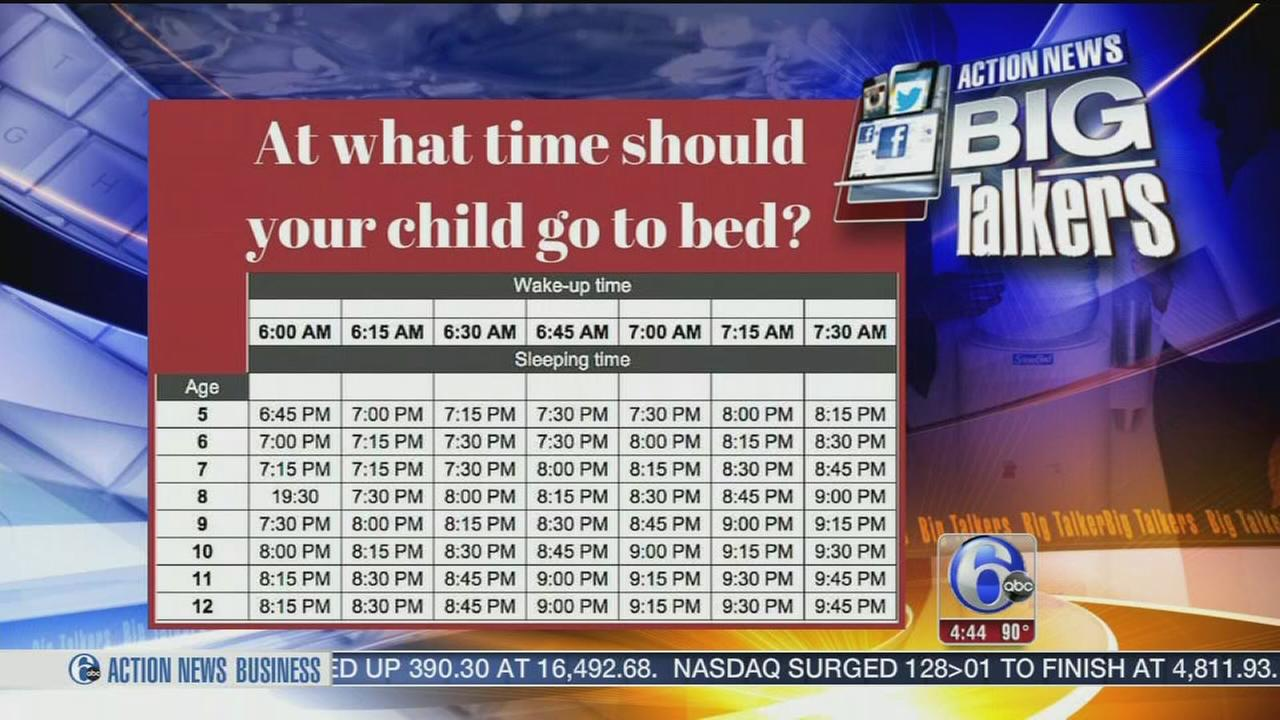 VIDEO: What time should your child go to bed?