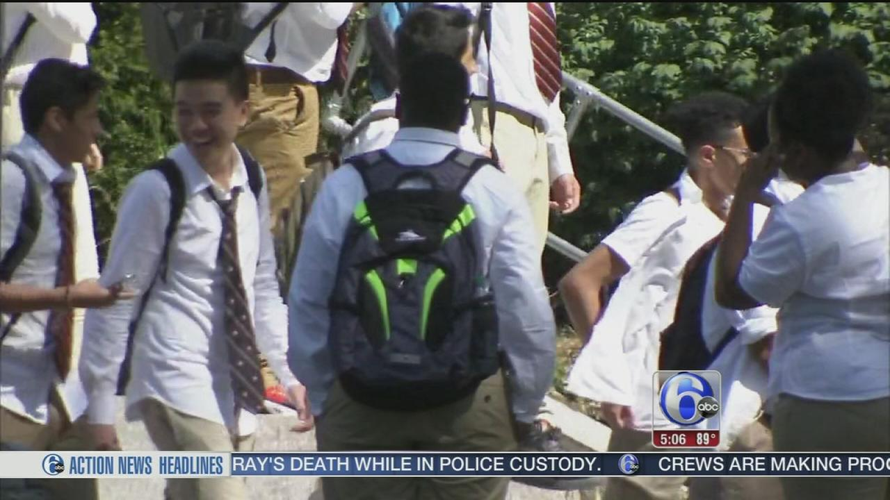 VIDEO: Back to school scorcher
