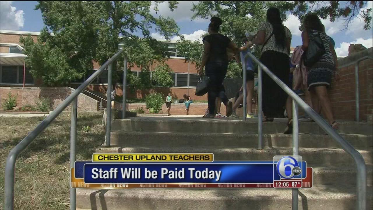 VIDEO: Chester-Upland teachers will be paid