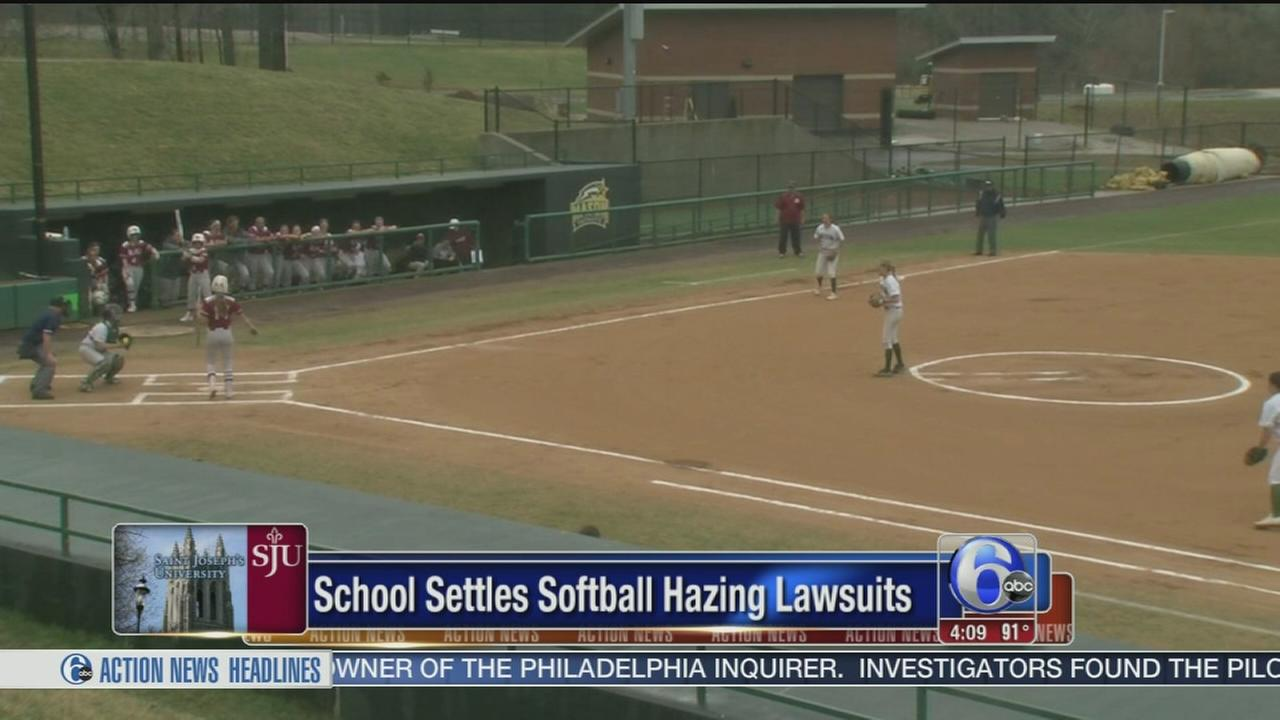 VIDEO: School settles softball hazing lawsuits