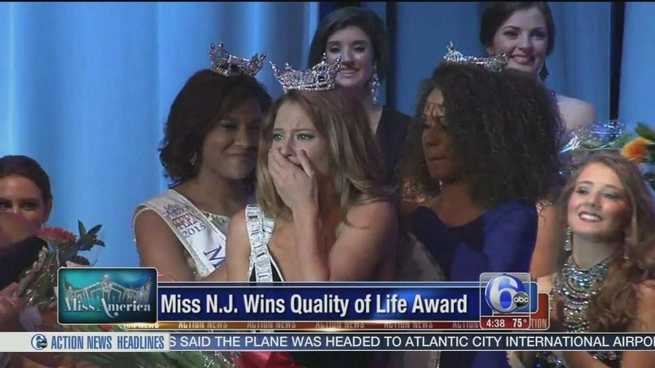 VIDEO: Miss New Jersey award