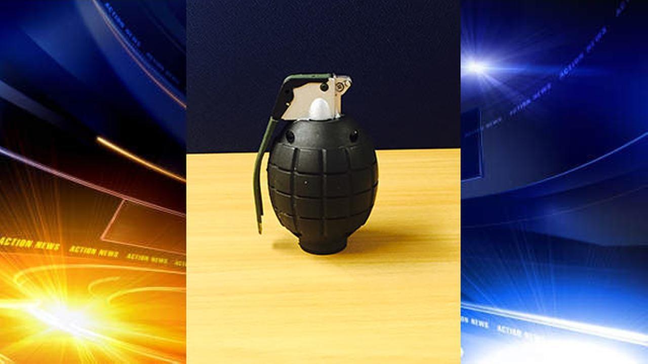 Hand grenade replica found at Burlco school