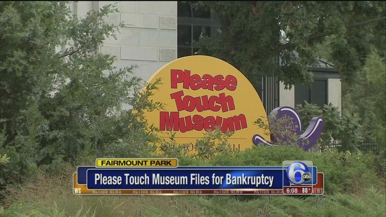 VIDEO: Please Touch Museum files bankruptcy