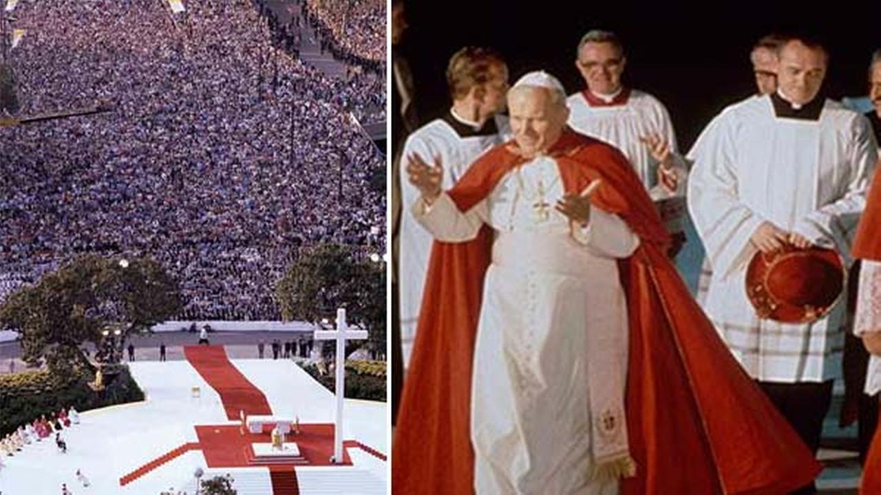 Pope John Paul II visits Philadelphia