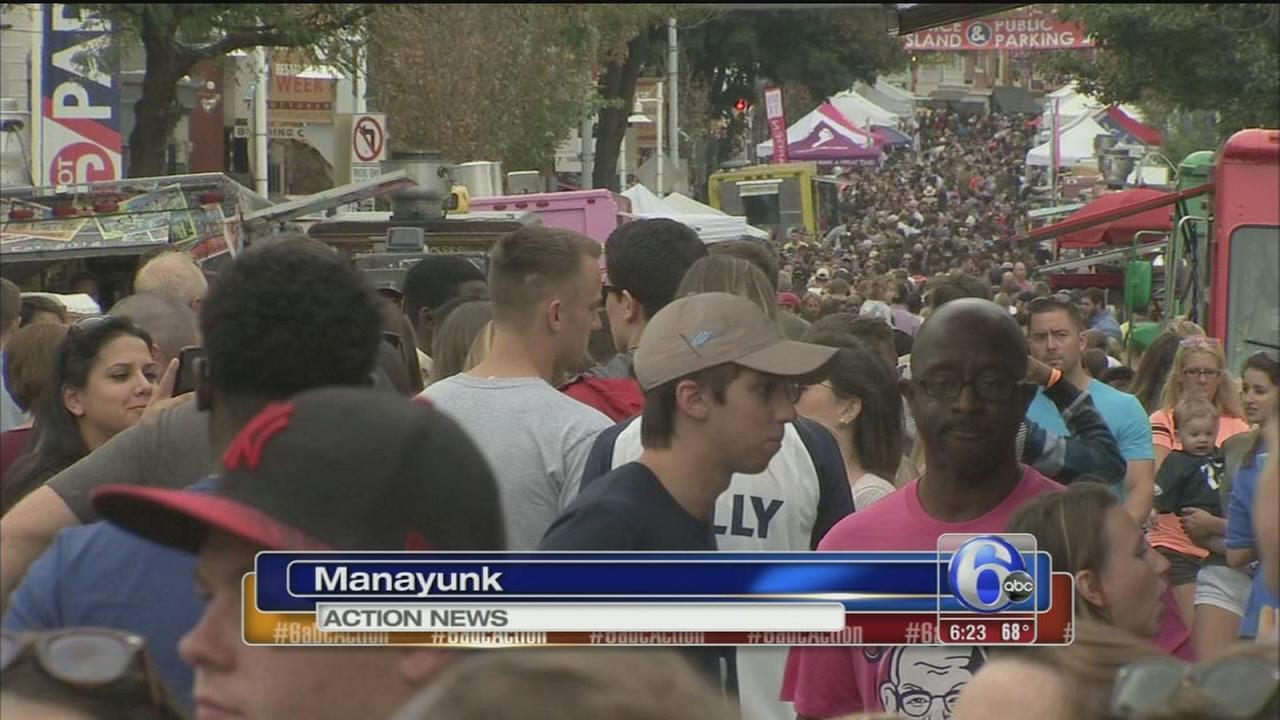 VIDEO: Manayunk Food Festival