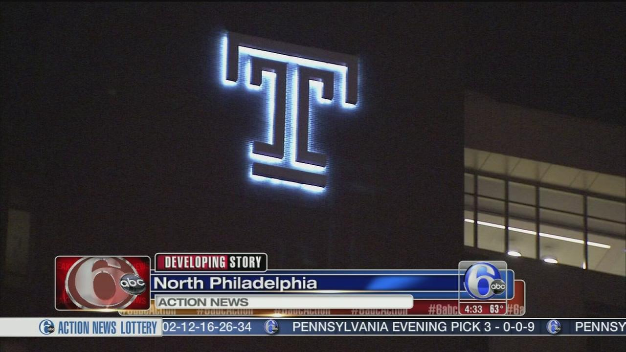 VIDEO: Police investigate laser incident in North Philly