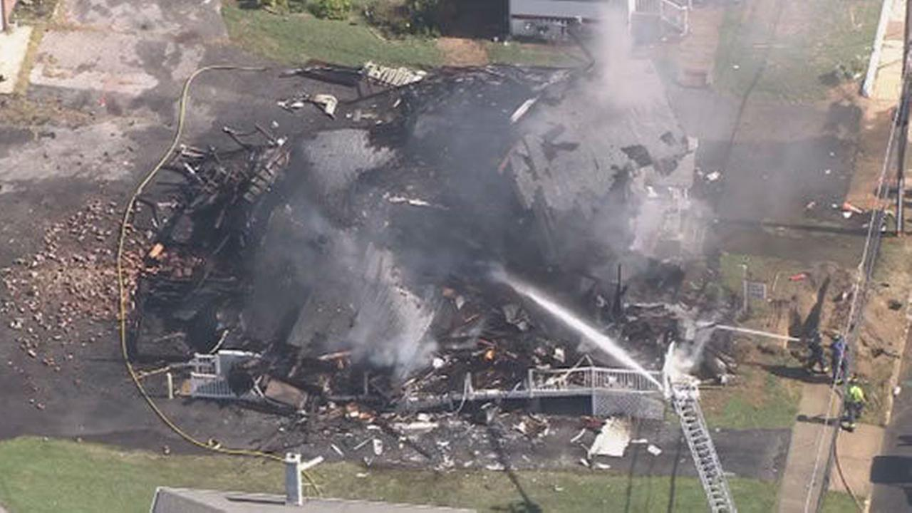PHOTOS: Pennsville building explosion
