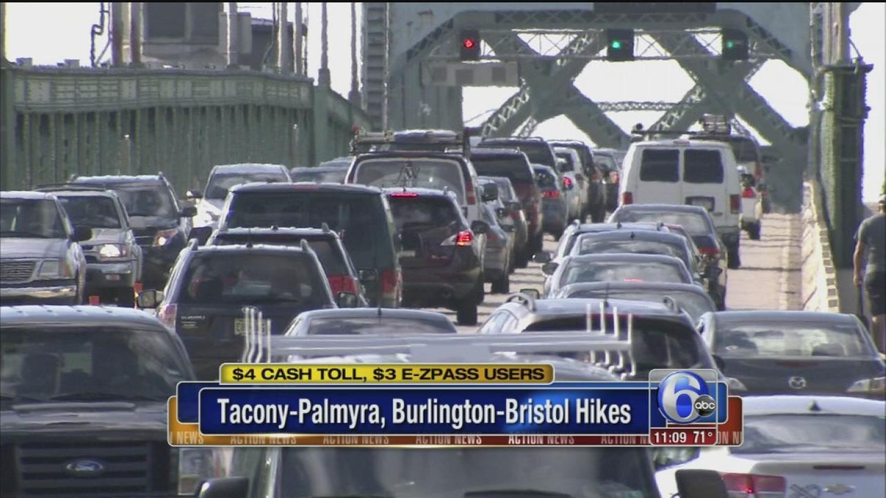 VIDEO: Bridge toll hike in effect
