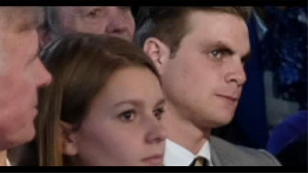 Hot guy noticed at GOP debate