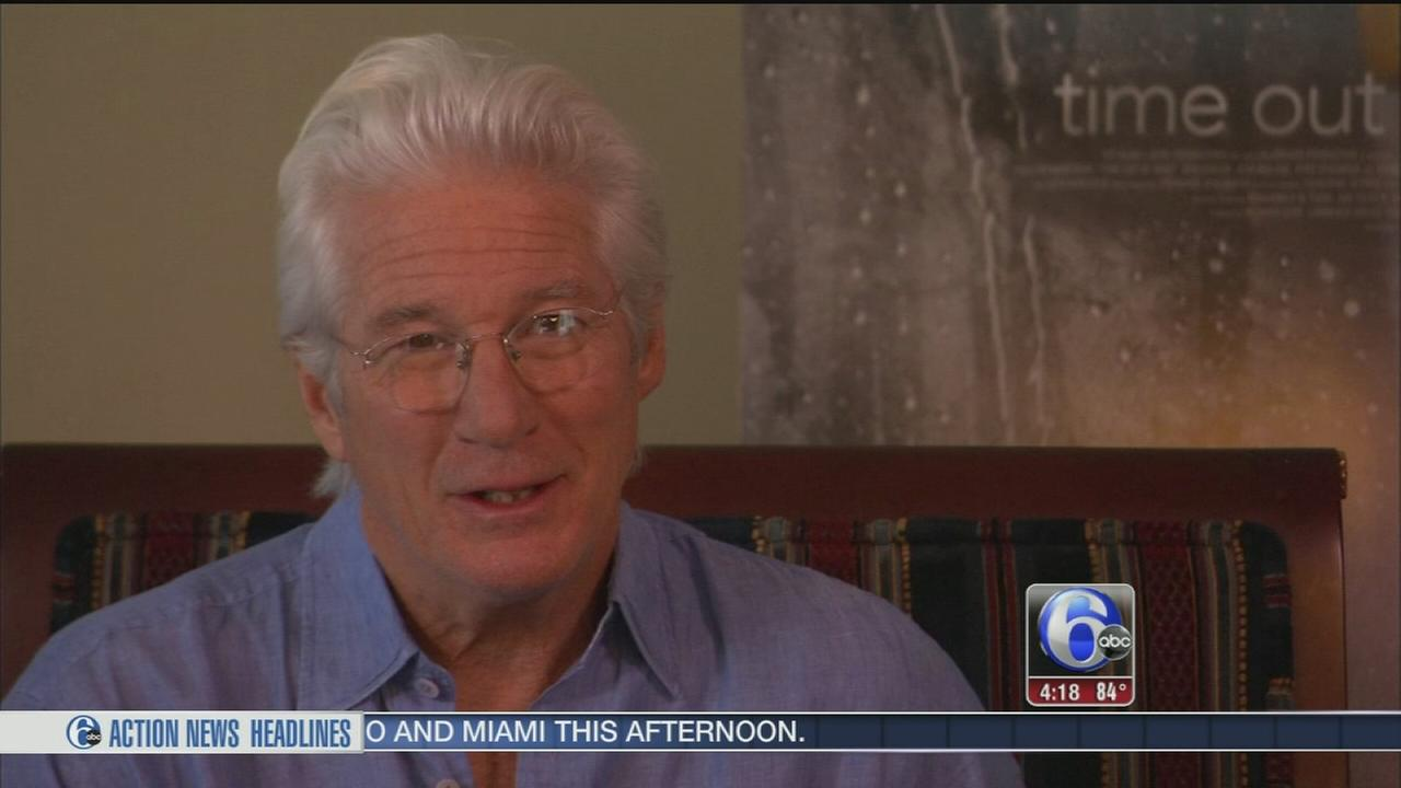 VIDEO: Richard Gere speaks to 6abc