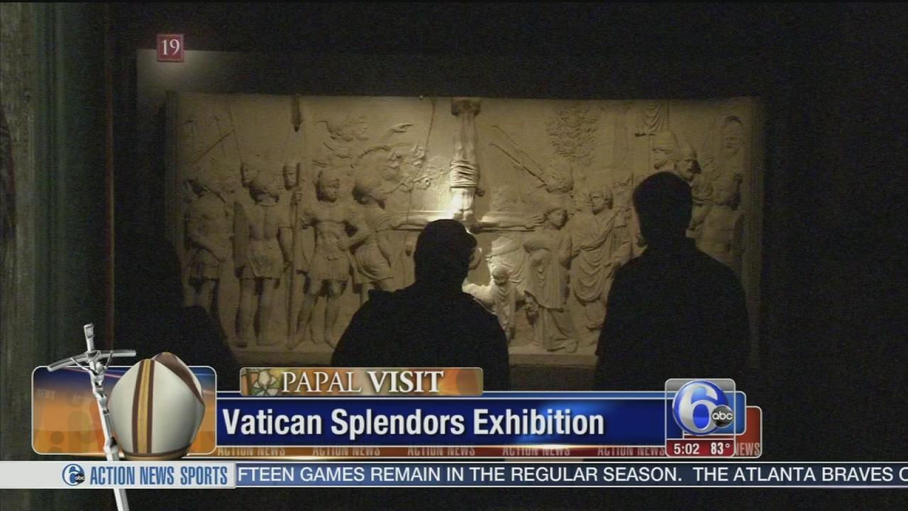 VIDEO: Vatican Splendors exhibit opens