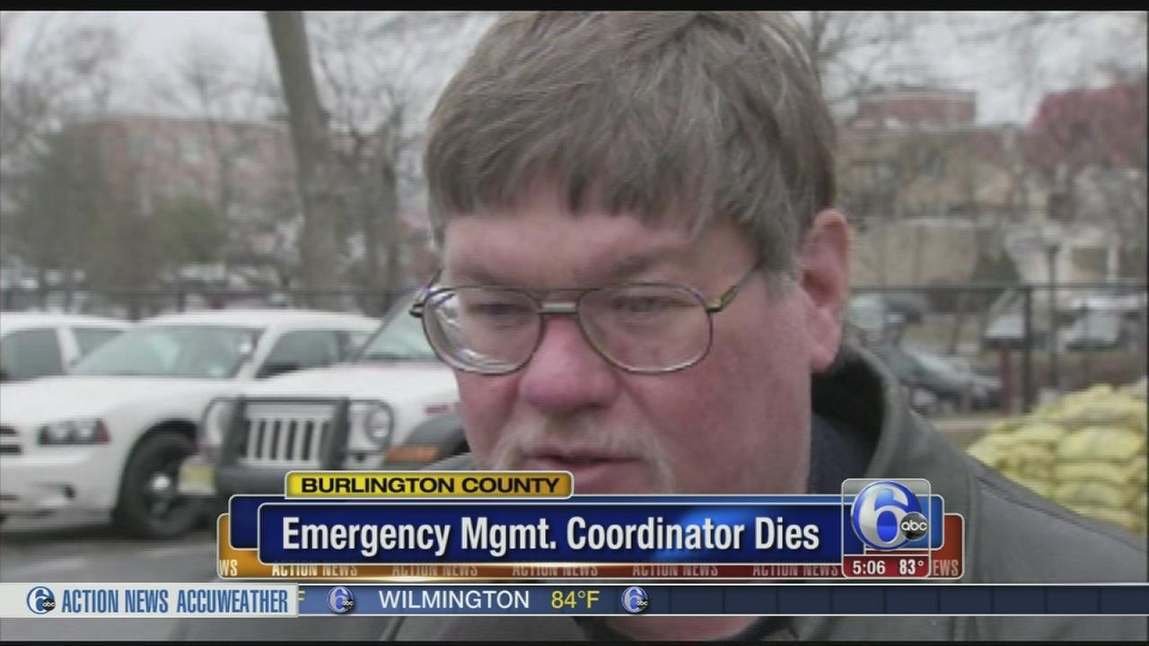 VIDEO: Burligton County emergency management coordinator dies