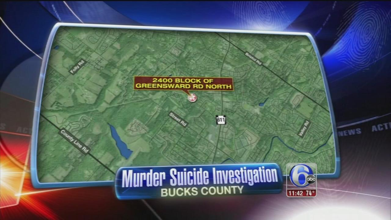 VIDEO: Murder/suicide investigation