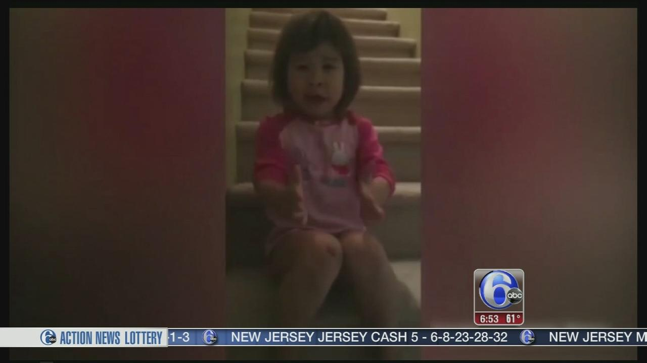 VIDEO: Girl, 6, lectures divorced parents