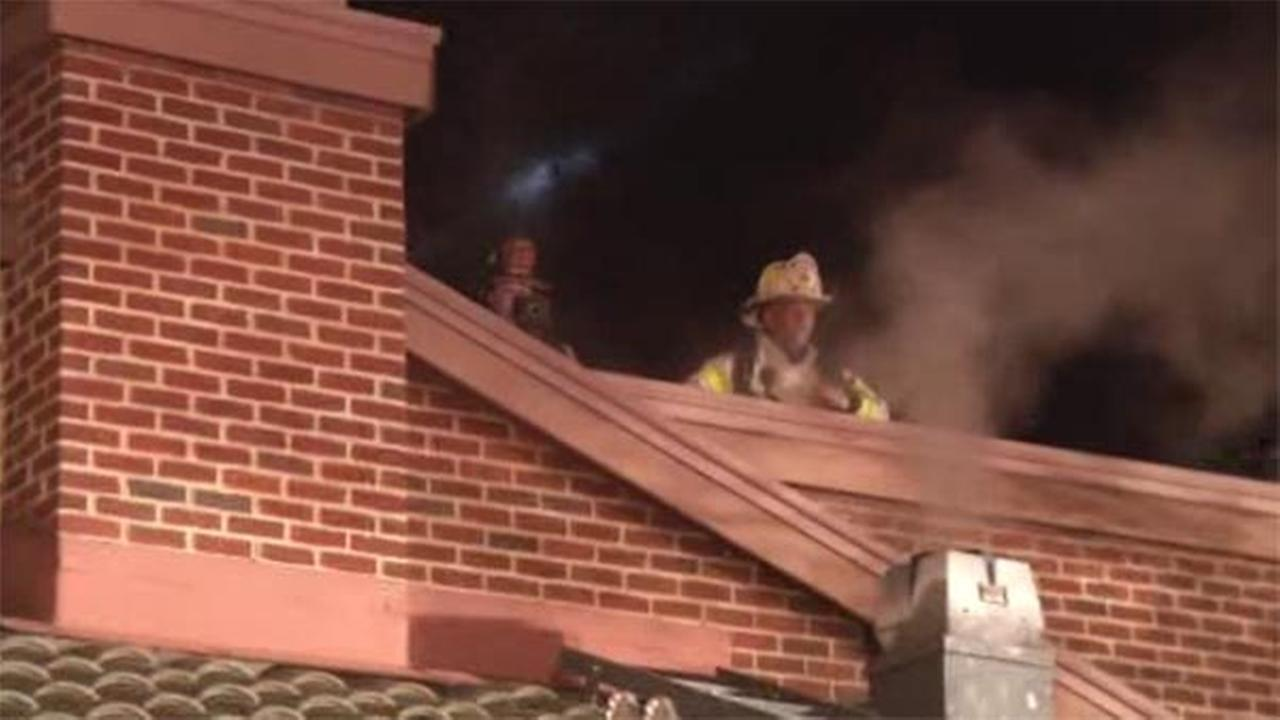 Firefighter hurt battling restaurant flames in Delaware