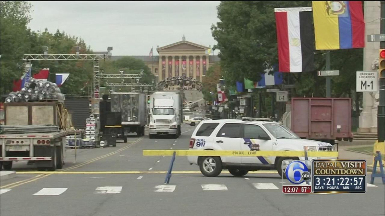 VIDEO: Historic security effort for papal visit