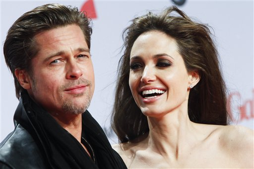 <div class='meta'><div class='origin-logo' data-origin='none'></div><span class='caption-text' data-credit='AP'>U.S. actors Angelina Jolie, right, and Brad Pitt arrive at the European premier of the movie &#34;The Tourist&#34; in Berlin on Tuesday, Dec. 14, 2010. (AP Photo/Markus Schreiber)</span></div>
