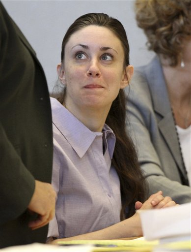 """<div class=""""meta image-caption""""><div class=""""origin-logo origin-image none""""><span>none</span></div><span class=""""caption-text"""">Casey Anthony appears in court at the Pinellas County Criminal Justice Center, Tuesday, May 10, 2011, on the second day of jury selection in her trial, in Clearwater, Fla. (AP)</span></div>"""