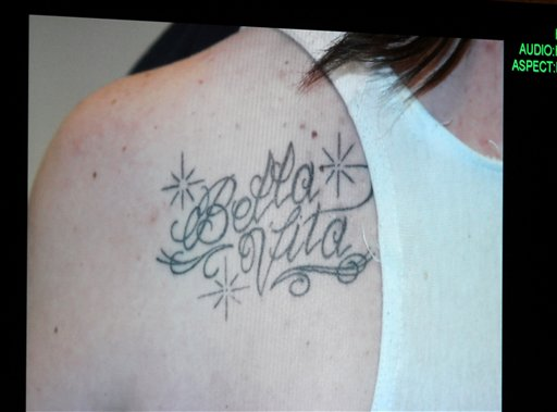 """<div class=""""meta image-caption""""><div class=""""origin-logo origin-image none""""><span>none</span></div><span class=""""caption-text"""">A photograph of a tattoo that Casey Anthony received while her daughter Caylee was reported missing. (ASSOCIATED PRESS)</span></div>"""